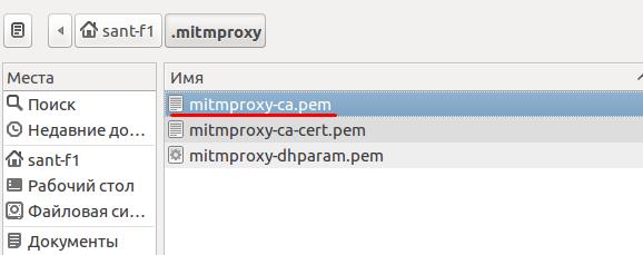Добавление сертификата mitmproxy в браузер chromim - шаг 3