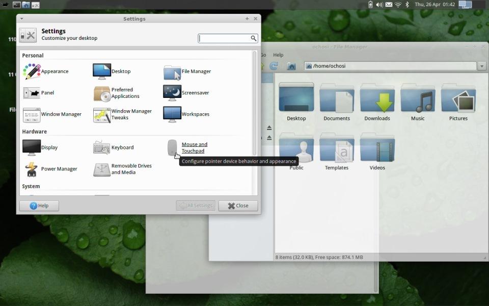 Среды рабочего стола в Linux или Что такое KDE, GNOME и иже с ними