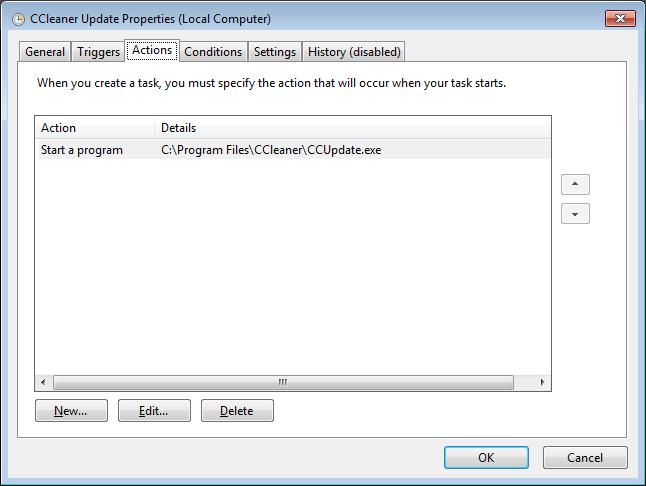 CCleaner принудительно обновляется до версии 5.46