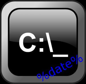 Добавление даты в любом формате в имя файла или папки через cmd