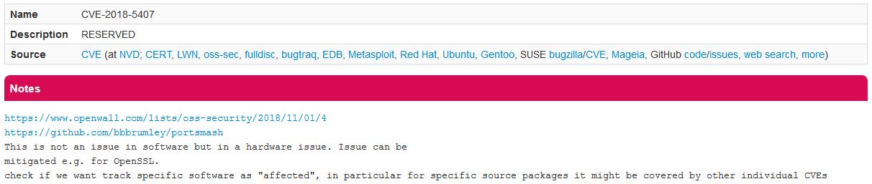 Уязвимость PortSmash в процессорах Intel
