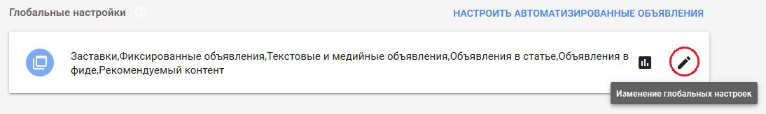 Автоматизированные объявления в Google AdSense