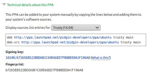 PPA-репозитории или Персональные архивы пакетов