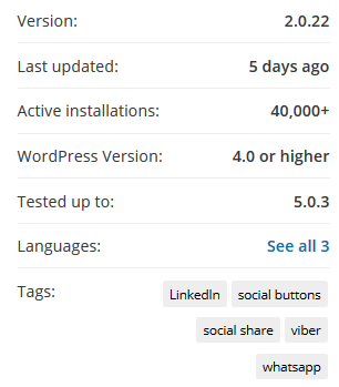 Уязвимость в плагине Simple Social Buttons для WordPress