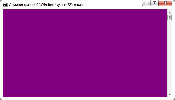 Команда COLOR: меняем цвет текста и фона в командной строке Windows