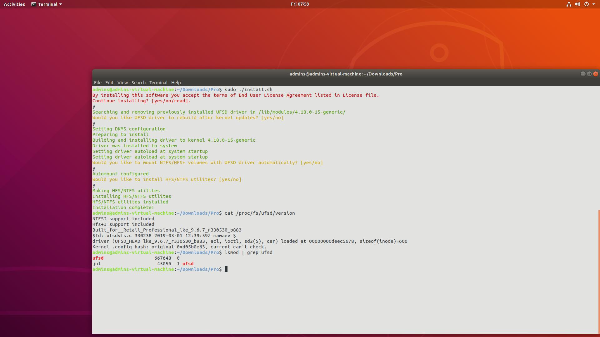 В состав ядра Linux 5.15 включен драйвер NTFS от Paragon Software